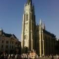 A catedral de Novi Sad de dia (Sérvia)