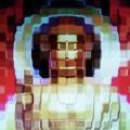 Buda en mosaicos