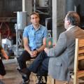Entrevista para o Programa atlantida apresentado pelo Sidonio Bettencourt na rtp açores, que passará no mês de agosto na tv.