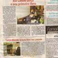 Artigo no Jornal Opinião Publica.