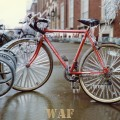 a bicycle after an ice storm