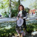 Elisabetta Errani Emaldi in the Garden in Venice during the 67 Festival of the Cinema September 2010