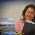 No lançamento do livro NAS ASAS DO MAR, CorposEditora