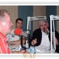 """Declamando poemas no programa rádio,  """"SÁBADO DE OURO"""""""