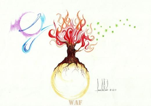 Meus Esboços Em Lápis De Colorir & Grafite - Um reinado de luz