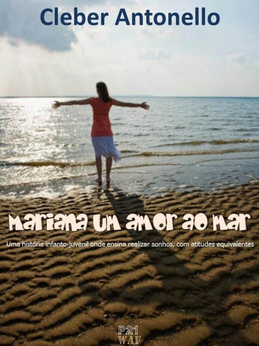 Livro Mariana um amor ao mar
