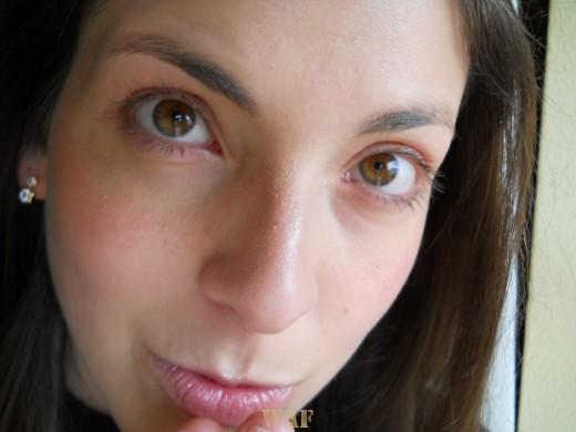 Fotografia de rosto recente