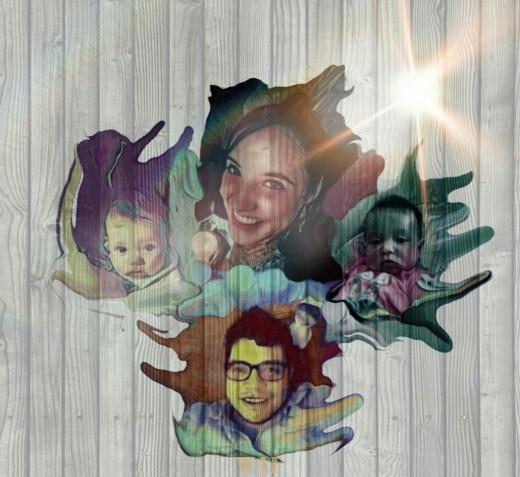 Superauroris y familia