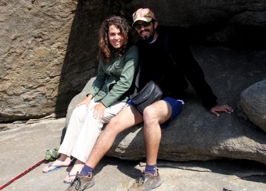 Na pedra dos namorados, Muxía - Espanha