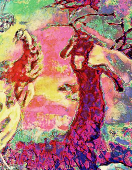 Ave y árbol