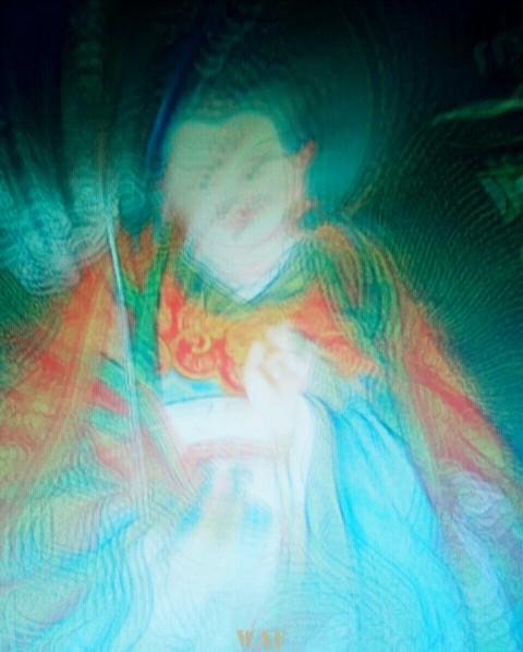 Vibraciones de un Buda