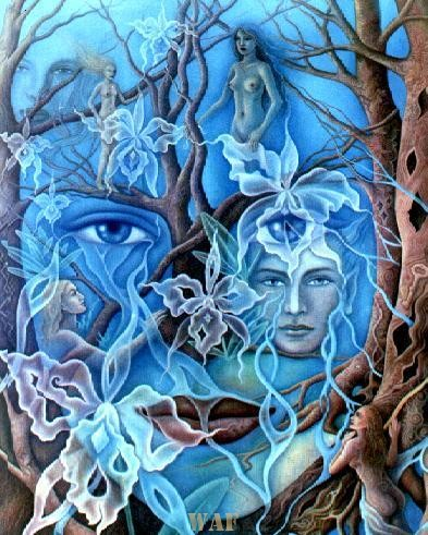 Azul Orquidal
