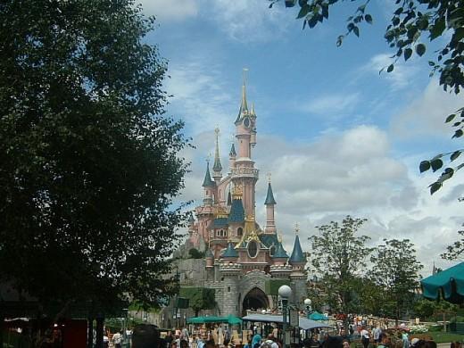 O Palácio das Fadas - Disneyland