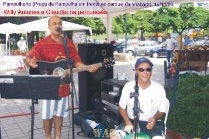 Show na praça da Pampulha