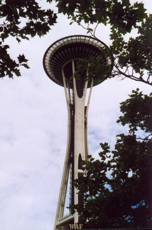the Seattle Space Needle (Seattle, WA)