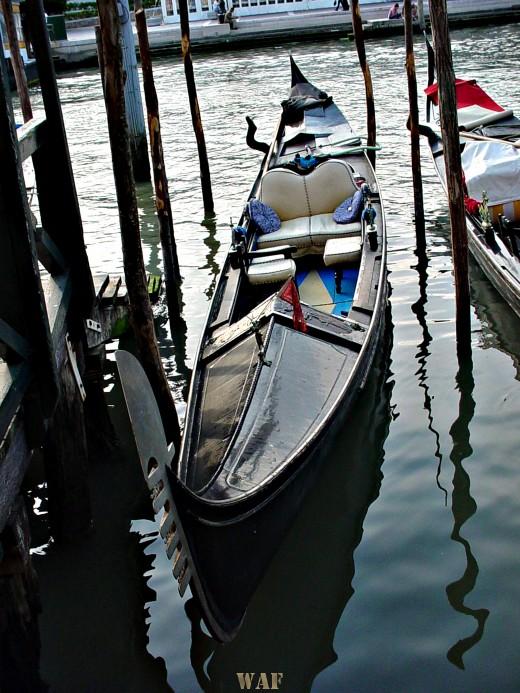 a Gondola in Venice (Italy)