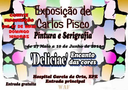 """Exposição de Pintura e Serigrafia """"DELICIAE"""""""